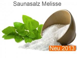 Saunasalz Salzöl Melisse